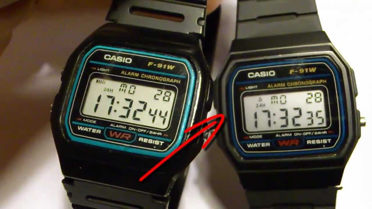 31991b5280e6 CASIO FALSIFICACION RELOJ DIGITAL - YouTube