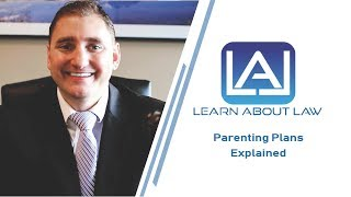Parenting Plans Explained - Learn About Law