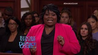 Classic Divorce Court: Flying Off The Handle