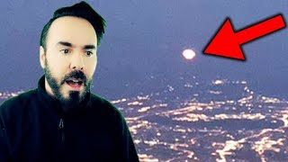 UFO? A Mysterious BLUE CRAFT Flying Over Canada September 2018