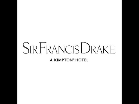 Sir Francis Drake Hotel at Christmastime
