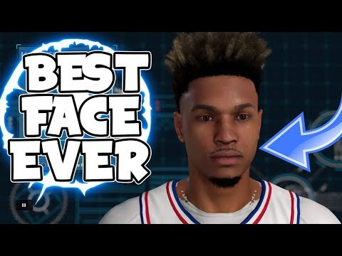 BEST FACE CREATION ON NBA 2K18!-SEXIEST MY PLAYER NO HOMO