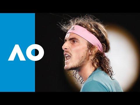 Roger Federer v Stefanos Tsitsipas second set highlights (4R) | Australian Open 2019 Mp3