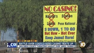 Residents express concern as casino project in Jamul begins