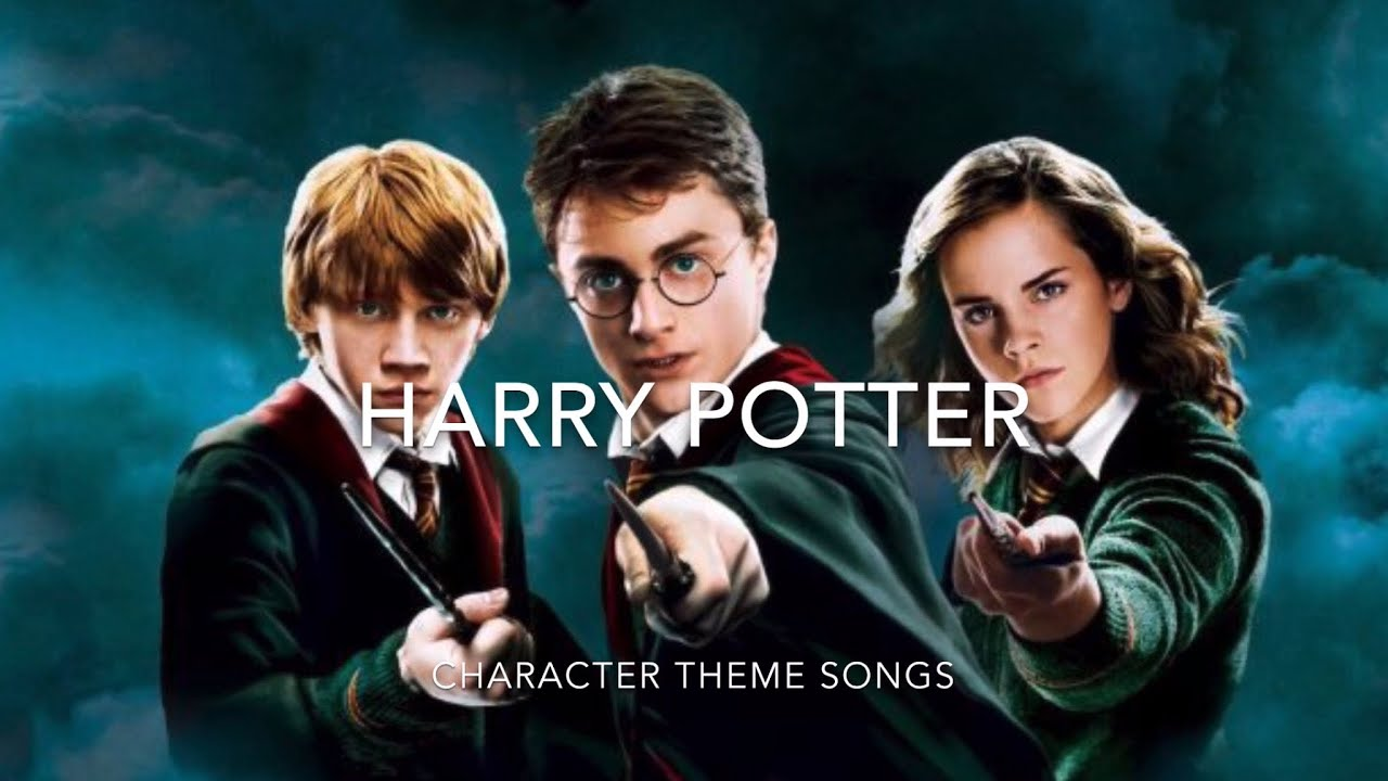 Harry Potter Character Theme Songs Youtube Harry Potter Characters Theme Song Songs