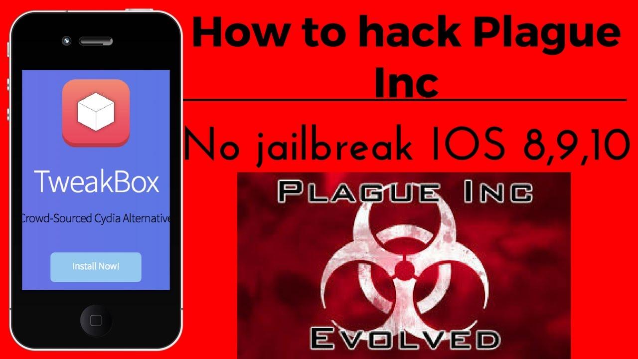 How to hack Plague Inc No jailbreak IOS 8,9,10 - YouTube