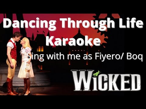 Dancing Through Life Karaoke (with female vocals only) Sing with Me