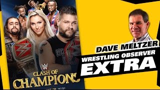 Dave Meltzer WWE Clash of Champions 2016 Reaction | The LAW