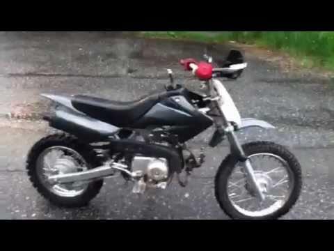 Customized Baja 70cc Dirt Bike Youtube
