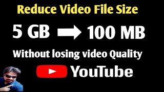 |reduce video file size | |how to reduce video file size without losing quality||handbrake| vikas