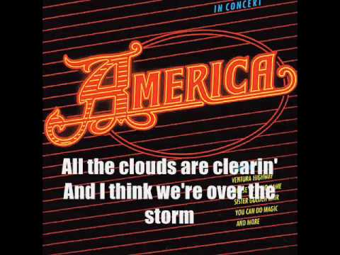 America - Daisy Jane (KARAOKE) With Lyrics