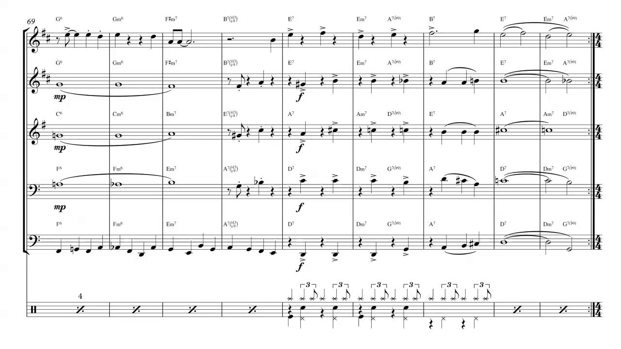 I´ll Be Home For Christmas Brass Quintet Sheet Music - YouTube
