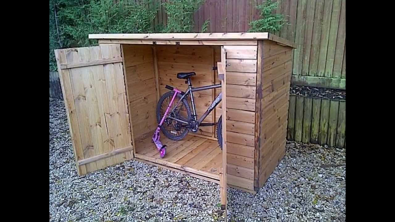 Bike storage shed by optea referencementcom
