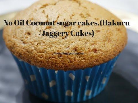 No oil Coconut Sugar cup Cakes