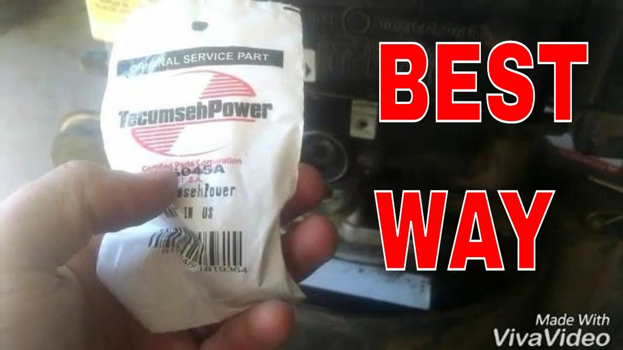 How to quickly replace fix primer bulb on Tecumseh engine garden way  chipper Vac
