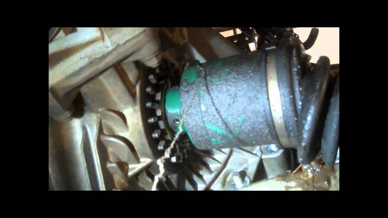 Remplazo De Eje Cv En Una Subaru Outback 2000 2 5 Litros