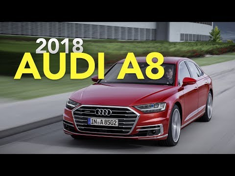 2018 Audi A8 Debuts with Advanced Autonomous Driving Technology