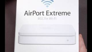 Apple Airport Extreme Wired/Wireless Router (Review)