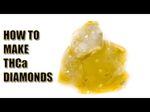 How To Make THCa Diamonds - The Easiest Way - Big Dans Genetix