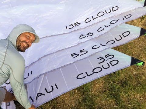 Boardriding Maui Cloud C.5 wind range