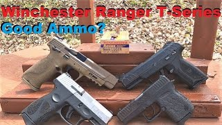 Winchester Ranger T-Series 9mm 147 gr Complete Ballistics Gel Test (Multiple Barrel Lengths)