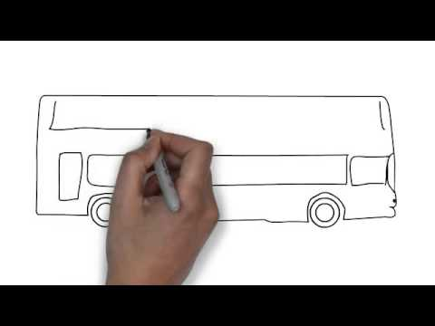 How To Draw Bus