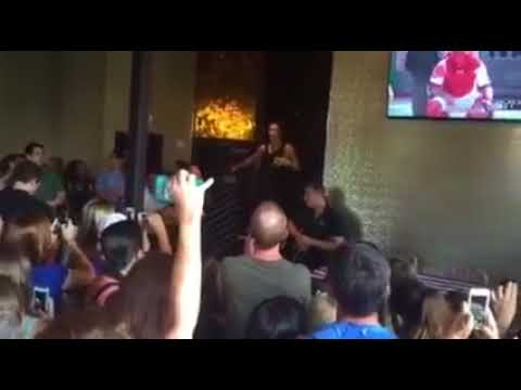 World Cup champ & local girl Ali Krieger thanks fans in Arlington