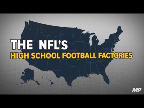 NFL's High School Football Factories
