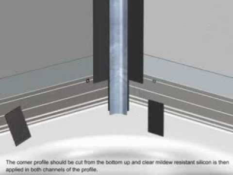 Respatex Wall Panels - Shower installation guide - YouTube