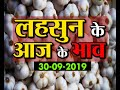 #lehsun #garlic नीमच मंडी में लहसुन के आज के भाव 30-09-2019 |Market Times TV |