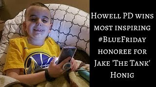 Howell Police honor boy who lost cancer battle