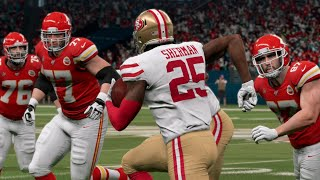 NFL Super Bowl LIV - 49ers vs Chiefs Full Game Highlights San Francisco vs Kansas City | Madden