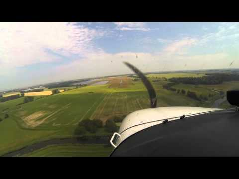Flight from Mnichovo (LKMH) Czech Republic to Barth (EDBH) Germany