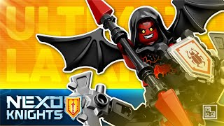 ◉ LEGO NEXO KNIGHTS - Ultimate LAVARIA - stop motion build review┃Обзор ЛЕГО Нексо Рыцари Лавария 70