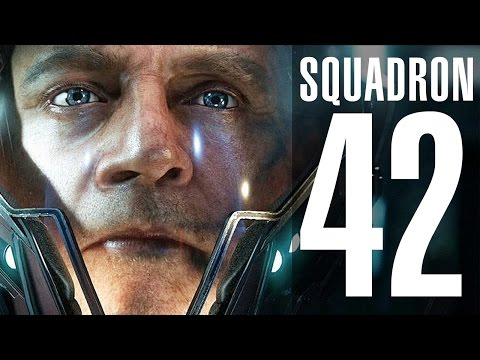 SQUADRON 42. 2 VIDEO. GAMEPLAY. Citizencon 2015, 2016