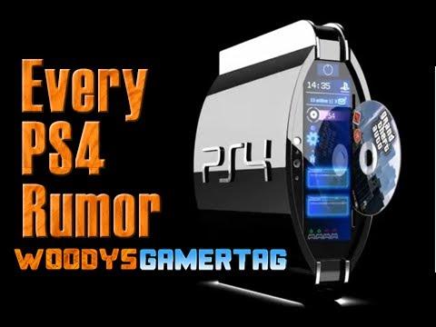 Every PS4 Rumor So Far