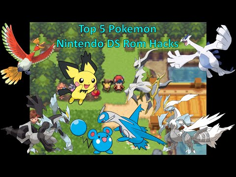 Top 5 Pokemon Nintendo DS Rom Hacks