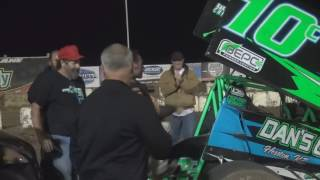 Salina Speedway NCRA Sprint Car & Mod Lite Feature