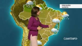 Previsão Brasil – Quinta-feira típica de inverno