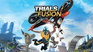Trials Fusion - Manobras no Motocross - Testando jogo FREE da PLUS PS4