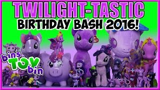 Twilight-tastic Birthday Bash 2016! Six Twilight Sparkle My Little Pony Reviews!! | Bin's Toy Bin thumbnail
