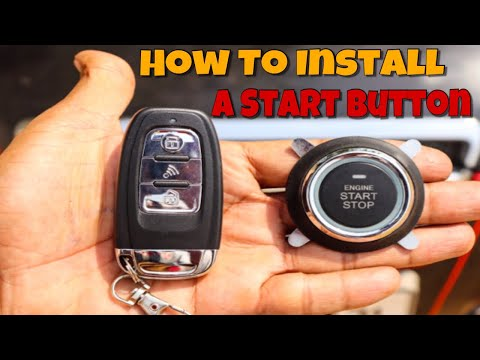 How To Install A Engine Start Button In Any Car | Techno khan