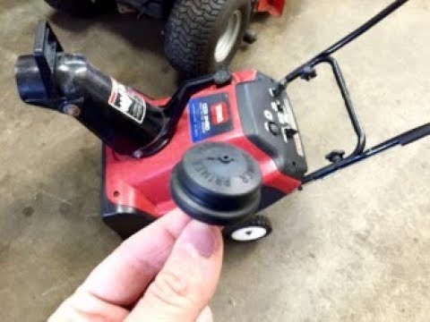 How To Replace The Primer Bulb On A Toro Snowblower - with Taryl