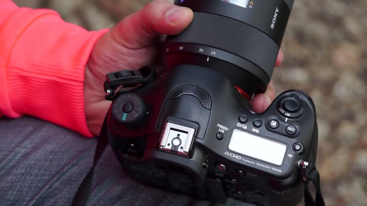 SONY Alpha A99 Full Frame Camera Review - iGyaan - YouTube