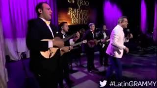 Presentación de C4 Trío y Rafael  Pollo Brito  en los Latin Grammy 2014