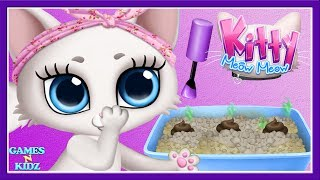 Fun Animal Care - Play Kitten Makeover - Learn Kitty Clean Up Makeup - Cute Kitten Care Kids Games