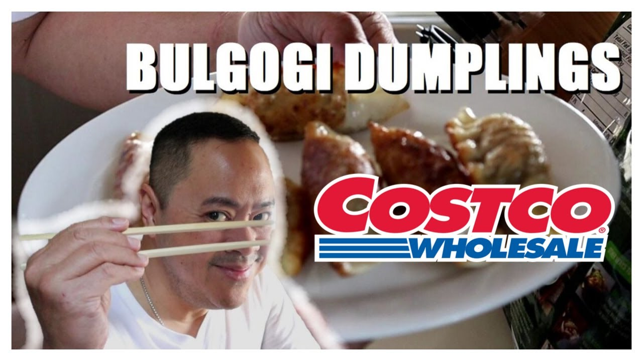 Bulgogi Dumplings From Costco | Taste Test | Vid#99 - YouTube