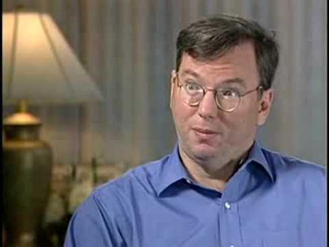 Jeffrey Rayport interviews Eric Schmidt, 2000, part 1 of 3