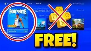 HOW TO GET THE FREE FORTNITE PS PLUS TREATMENT AND PLANER!! | @Gonzaax_09