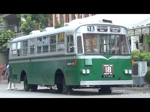 1967 Singapore Traction Company Nissan Diesel RX102K3 Restored as Static Display